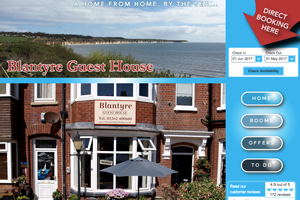 Blantyre Guest House Website