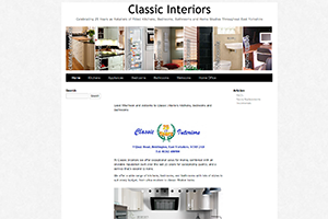 Classic Interiors Website
