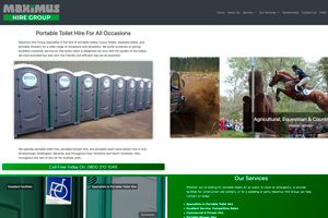 Maximus Hire Group website image
